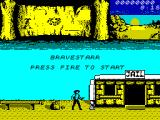 BraveStarr ZX Spectrum Title screen.
