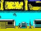 BraveStarr ZX Spectrum Shooting baddies.