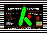 The Krypton Factor Amstrad CPC Loading screen.