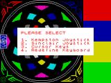 Eye ZX Spectrum Options.