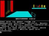 Jeffrey Archer: Not a Penny More, Not a Penny Less - The Computer Game ZX Spectrum Sitting in your room.