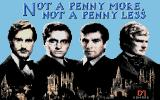 Jeffrey Archer: Not a Penny More, Not a Penny Less - The Computer Game Atari ST Loading screen.