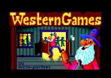 Western Games Amstrad CPC Loading screen.
