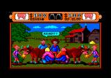 Western Games Amstrad CPC Milking.