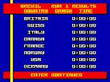 Bobsleigh ZX Spectrum The competitors.