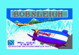 Bobsleigh Amstrad CPC Loading screen.