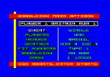 Bobsleigh Amstrad CPC Race options.