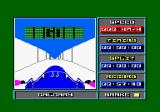 Bobsleigh Amstrad CPC The start.