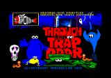 Through the Trap Door Amstrad CPC Loading screen.