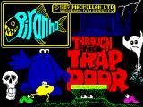 Through the Trap Door ZX Spectrum Loading screen.
