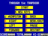 Through the Trap Door ZX Spectrum Options.