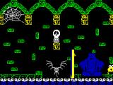 Through the Trap Door ZX Spectrum The trapdoor.