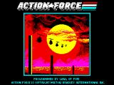 Action Force ZX Spectrum Loading screen.