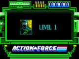 Action Force ZX Spectrum Level 1.