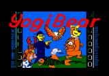 Yogi Bear Amstrad CPC Loading screen.