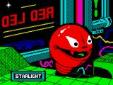 Battle Droidz ZX Spectrum Loading screen.