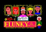 Flunky Amstrad CPC Loading screen.