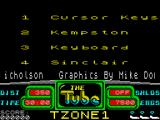 The Tube ZX Spectrum Options.