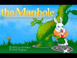The Manhole FM Towns Title screen
