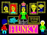 Flunky ZX Spectrum Loading screen.