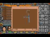 Might and Magic: Darkside of Xeen FM Towns Automap screen