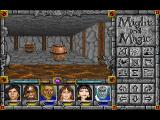 Might and Magic: Darkside of Xeen FM Towns Barrels in a sewer dungeon