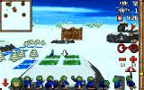 3D Lemmings Winterland DOS Gameplay