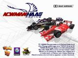 Newman Haas Racing PlayStation Title Screen.