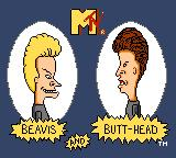 MTV's Beavis and Butt-Head  Game Gear Title screen