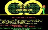 Wheel of Fortune DOS Main Title