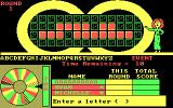 Wheel of Fortune DOS Enter a Letter