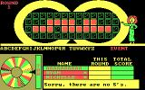 Wheel of Fortune DOS There is no 'S'