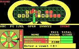 Wheel of Fortune DOS Enter a Vowel / There are 2 'E's