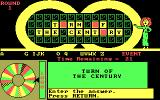 Wheel of Fortune DOS Enter the answer