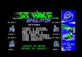 Jet Bike Simulator Amstrad CPC Standard title screen.