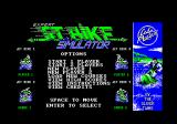 Jet Bike Simulator Amstrad CPC Expert title screen.