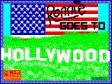 Ronnie Goes to Hollywood ZX Spectrum Loading screen.