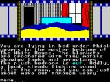 Ronnie Goes to Hollywood ZX Spectrum The start of your adventure.