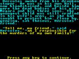The Labours of Hercules ZX Spectrum The story.