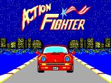 Action Fighter SEGA Master System Title