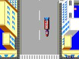 Action Fighter SEGA Master System Entering a supply truck
