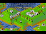 Populous / Populous: The Promised Lands FM Towns As the credits roll, the little guys do a lot of things