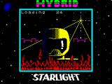 Hybrid ZX Spectrum Loading screen.