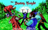 The Bard's Tale II: The Destiny Knight DOS Title screen