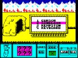 Yogi Bear ZX Spectrum Control option.