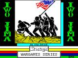 Iwo Jima ZX Spectrum Loading screen.