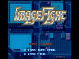 ImageFight FM Towns Title screen B