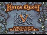 King's Quest V: Absence Makes the Heart Go Yonder! FM Towns Title screen