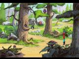 King's Quest V: Absence Makes the Heart Go Yonder! FM Towns Trying to talk to whatever is in that tree