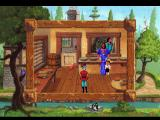 King's Quest V: Absence Makes the Heart Go Yonder! FM Towns Note the detailed cat animation